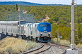 Amtrak 164 at West Chapelle, NM on April 20, 2013.