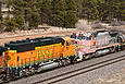BNSF 528 shows its age at Flagstaff AZ on March 24, 2012.