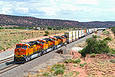 New ES44C4's 6780, 79, and 78 at Scholle, NM on September 11, 2011.