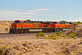 BNSF 7257 west of Dalies, NM on September 11, 2011.