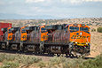BNSF 7354 west of Dalies, NM on Septembe 11, 2011.
