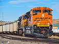 BNSF 9024 at Louviers, CO on January 11, 2014.