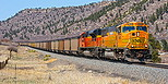 BNSF 9945 approaches Larkspur, CO on April 26, 2013.