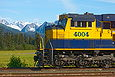 ARR 4004 waits at Seward, AK on August 25, 2012.