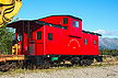 White Pass & Yukon caboose 911 at Carcross, YT on August 18, 2012.